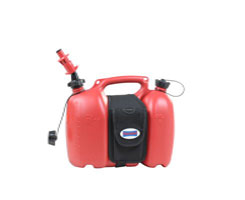 dubbele jerrycan rood