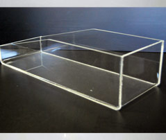 display plexiglas los